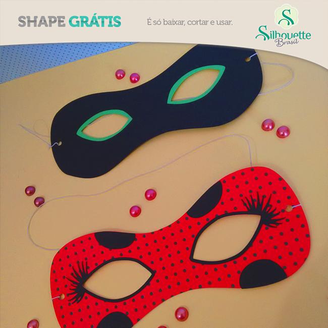 0517270349 Máscara Miraculous | Blog Silhouette Brasil