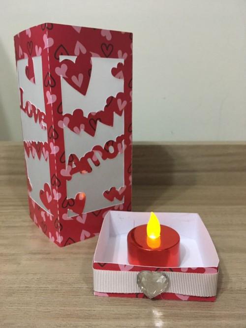 Presente de Dia dos Namorados feito na Silhouette