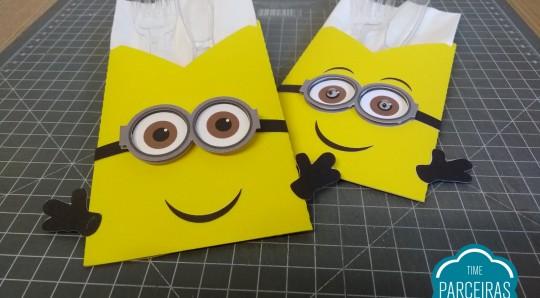 personalizados de festa minions