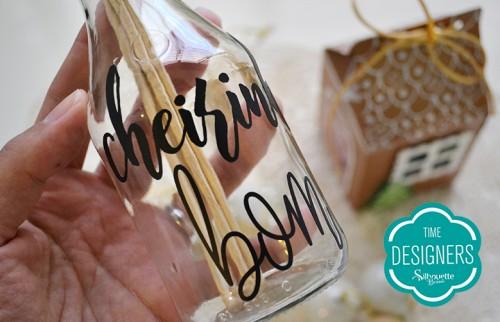 Personalizados de Natal na Silhouette - Vinil Adesivo