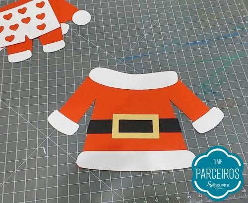 Como Fazer Varal de Roupas do Papai Noel