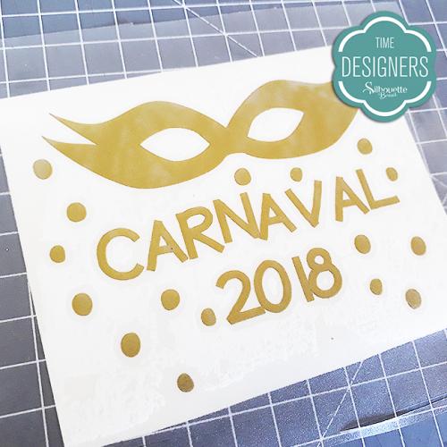 DIY Garrafinha Personalizada Para Carnaval - Molde Grátis