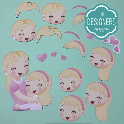 Molde Caixa Dia das Mães: Presente p/ fazer em casa