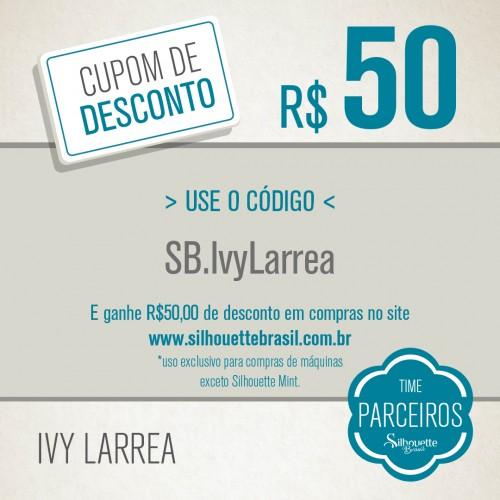 Cupom de Desconto Ivy Larrea