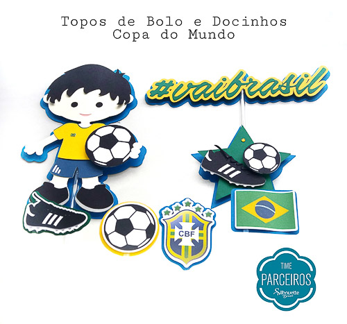 Festa Copa do Mundo  O que fazer e como fazer   Blog Silhouette Brasil 1e5a4e676e