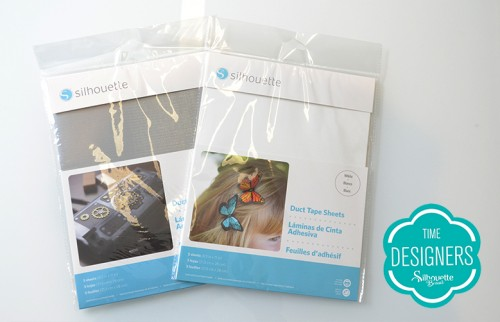 Mídias Especiais Silhouette - folhas fitas adesivas
