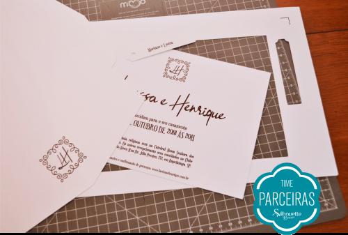 Como Fazer Hot Stamping - passo a passo convite de casamento