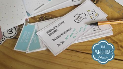 Presente para Amigo - DIY com Molde Grátis - Personalizando a caneta