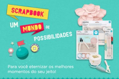 Scrapbook - Um Mundo de Possibilidades - Materiais para Scrapbook - Equipamentos, Ferramentas e Insumos