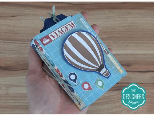 Tudo pronto - Como Fazer Vinco: DIY Mini Álbum de Scrapbook