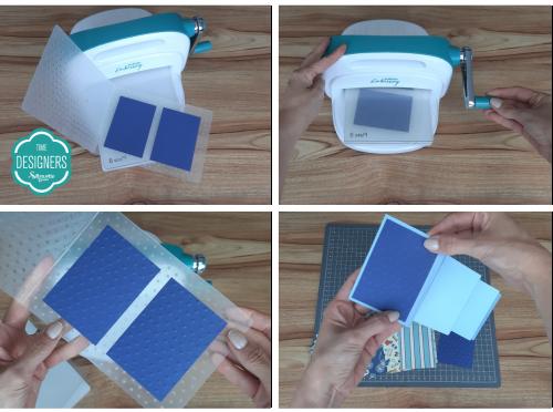 Relevo na Mimo Embossing - Como Fazer Vinco: DIY Mini Álbum de Scrapbook