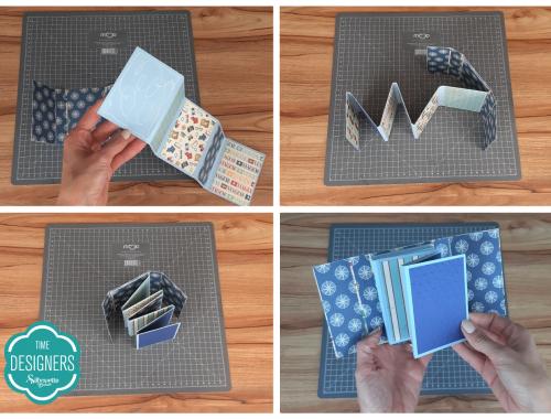 Estrutura Base do Álbum Pronta - Como Fazer Vinco: DIY Mini Álbum de Scrapbook