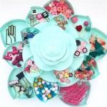 Organizador Bloom Menta We R - Materiais para Scrapbook: Equipamentos, Ferramentas, Insumos