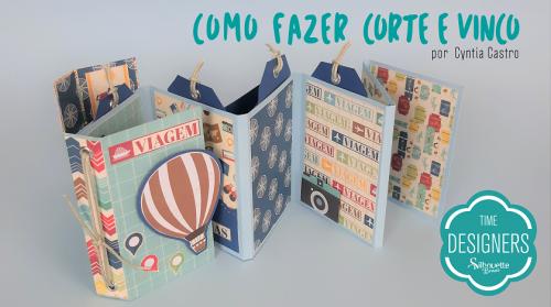 Como Fazer Vinco - DIY Mini Álbum de Scrapbook