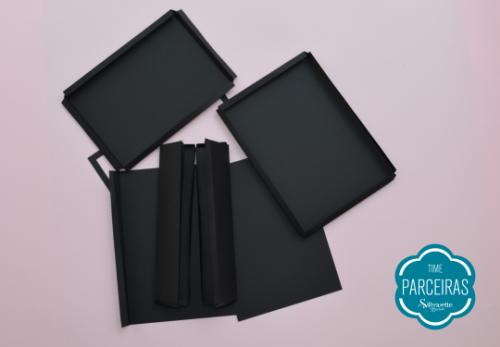 Quebra Cabeça Brilha no Escuro - DIY com Shape Grátis - Partes da Caixa Tablet Cortadas