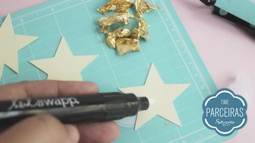DIY Convite de Aniversário Infantil - C/ Efeito Metalizado - Cola na Estrela