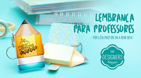 Dia dos Professores - DIY Lembrancinha Personalizada na Silhouette