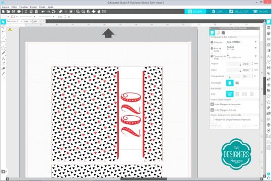 Montando o arquivo para impressão