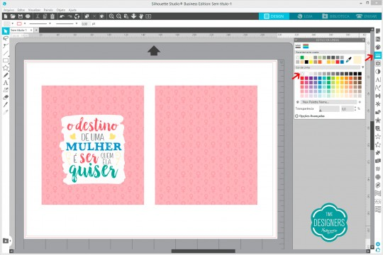 Desativar linhas para visualizar impressão