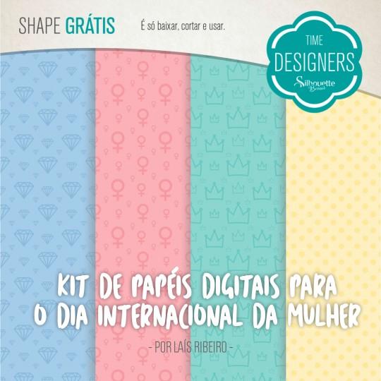 Kit de Papeis Digitais para Personalizar as Capas