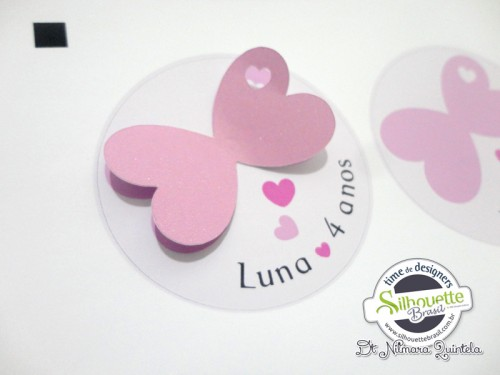 Bolsinha Borboleta Nilmara Quintela Paper Designer