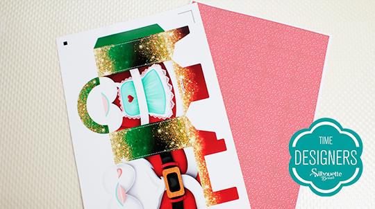 Sacolinha de Natal como fazer embrulho de natal?