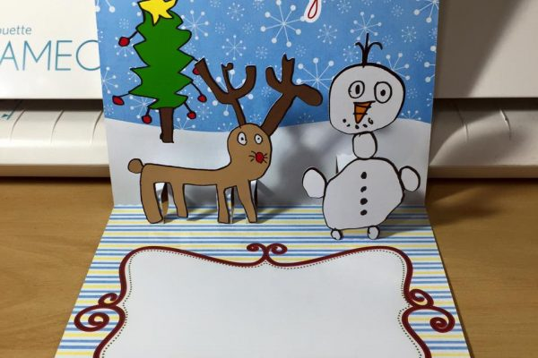 Transformando desenho de criança em Cartão