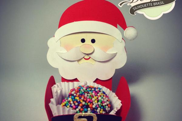 Forminha Papai Noel