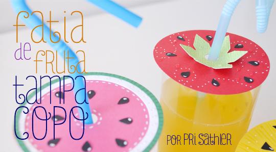 Fruta Tampa Copo