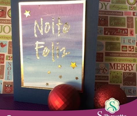 Cartão Noite Feliz