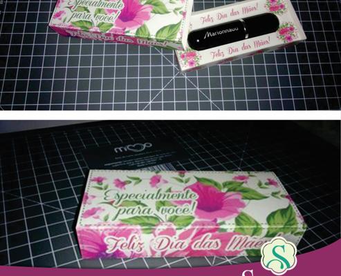 Caixa Porta perfume Para Dia das Mães