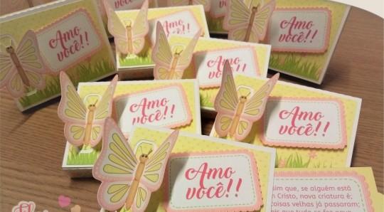 Caixinha para chocolates personalizada