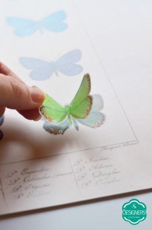 Quadro de papel 3D