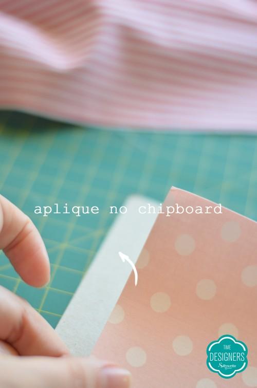 tecido personalizado com silhouette