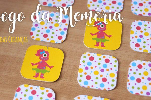 Lembrancinha para Festa Infantil – Jogo da Memória