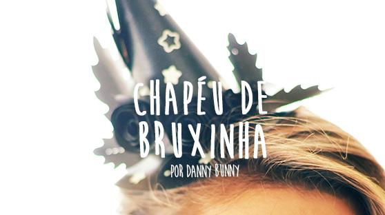 Chapéu de Bruxa de Papel – Molde Grátis