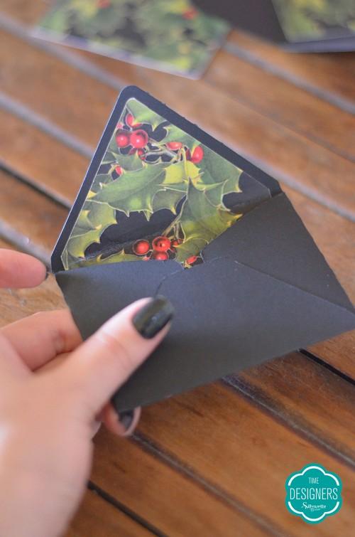Cartão de Natal Personalizado na Silhouette