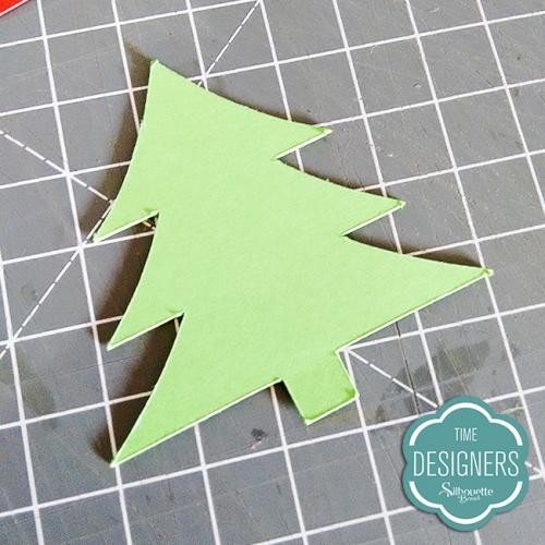 Cartão de Natal Feito na Silhouette