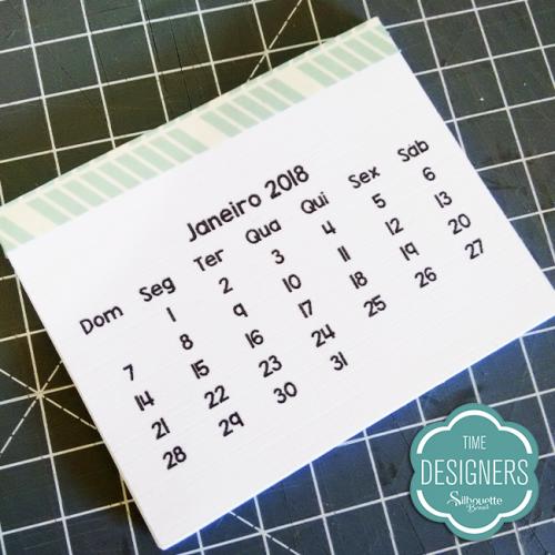 calendário 2018 personalizado para imprimir