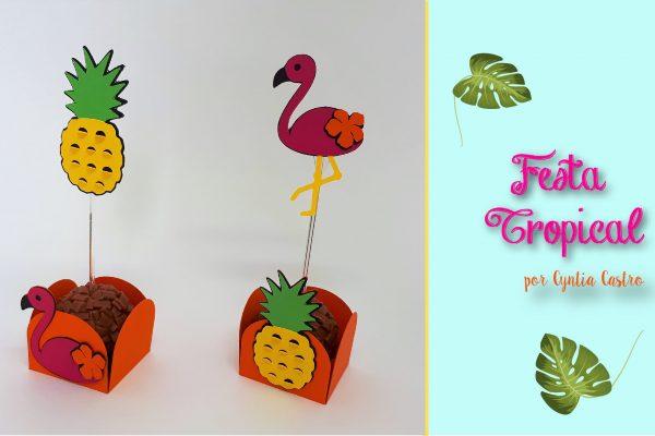 DIY Forminhas e Toppers Personalizados na Silhouette – C/ Shapes Grátis
