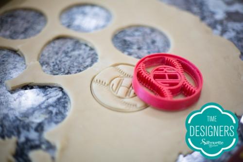 Cortador biscoito impresso Silhouette Alta