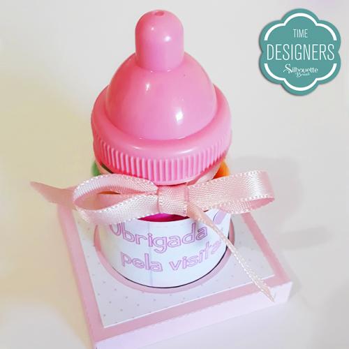 PAP Lembrancinha Chá de Bebê - Caixa Explosão