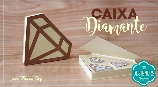 Caixa Diamante: Molde com Porta Joias