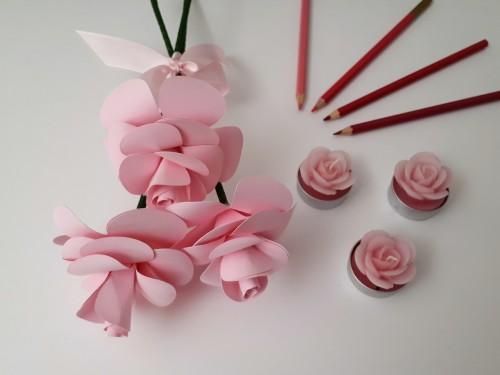 Arranjo de Flores de Papel: Ideia para Presente de Dia das Mães