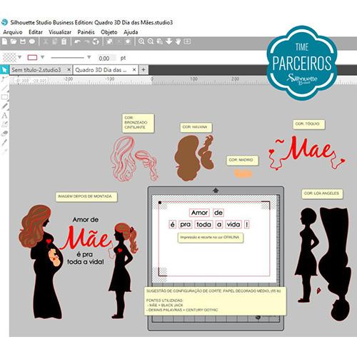 Como fazer Quadro 3D de Papel: Ideia de Presente para Dia das Mães