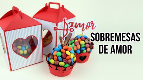 Caixinha para Dia dos Namorados: Kit Sobremesa do Amor