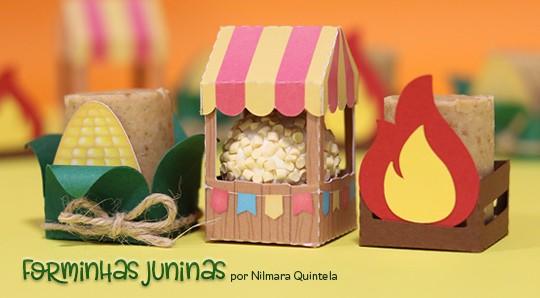 Personalizados Festa Junina: Moldes de Forminhas Grátis
