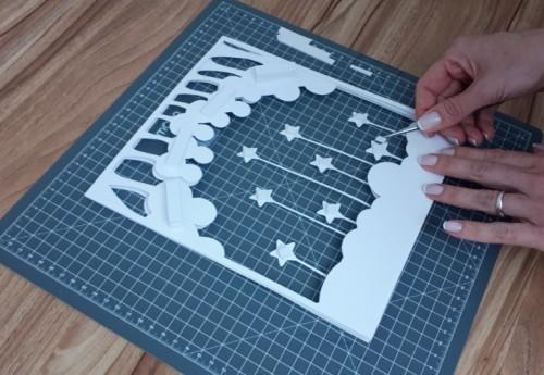 Como Fazer Lightbox: DIY com Molde Grátis