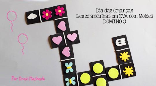 Dia das Crianças: Lembrancinhas em EVA com Moldes