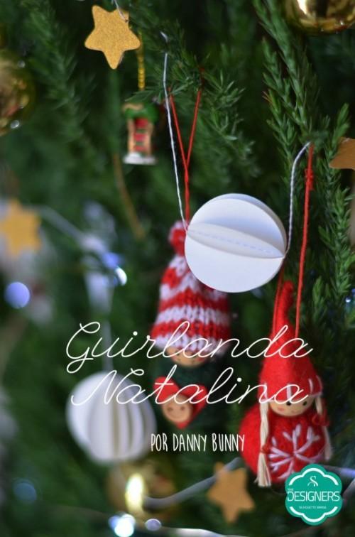 Ideias para enfeites de natal - guirlandas natalinas para árvore